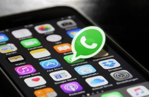 stuur een whatsapp